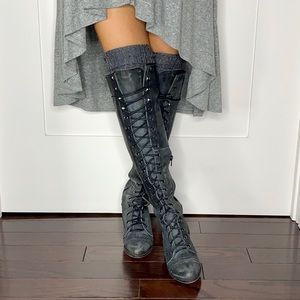 Jeffrey Campbell x Free People Joe Lace Up Boot
